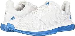 Footwear White/Footwear White/Shock Cyan