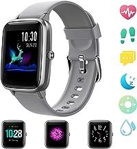GRDE Smartwatch, Relojes Inteligentes Hombre Impermeable IP68 para GPS Deportivo con Pulsómetro, Calorías, Monitor de Sueño, Podómetro Pulsera Actividad, Smartwatch Reloj Inteligente para Android iOS