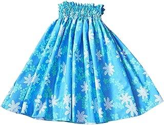 Hula Jam Women's Lagoon Blue Single Hawaiian Pa'u Hula Skirt