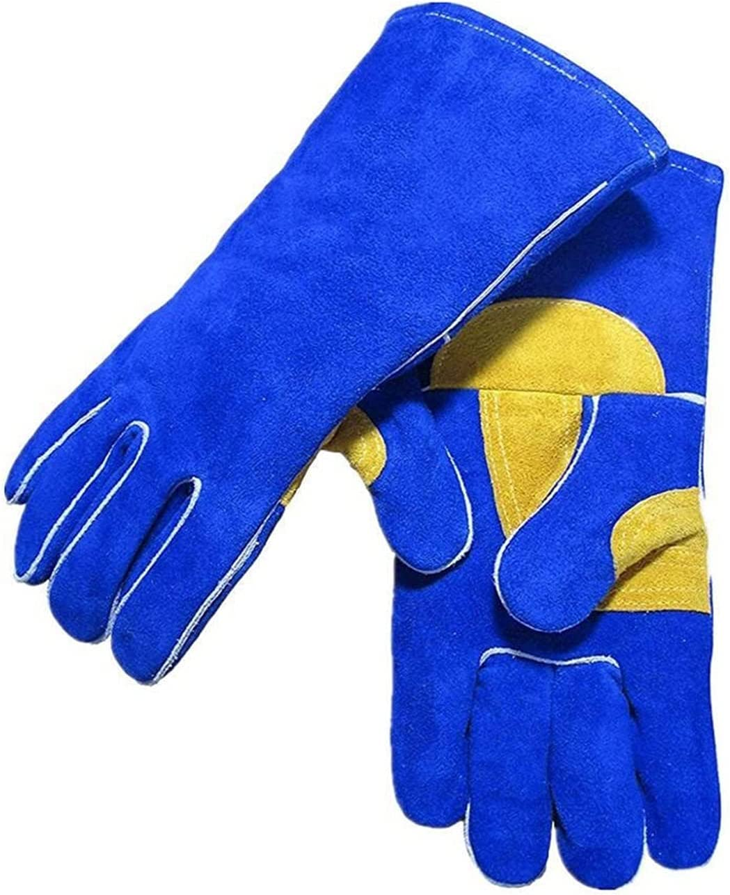electric welding machine MIG Gloves Split Max 54% OFF 35cm New products, world's highest quality popular! 14