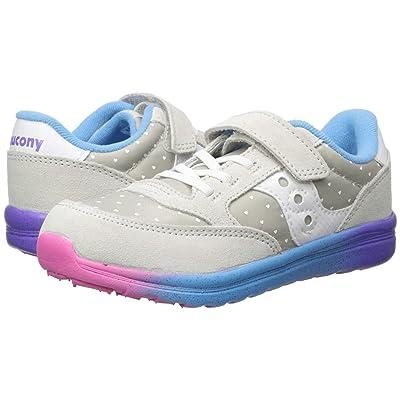 Saucony Kids Originals Jazz Lite (Toddler/Little Kid) (Grey/Multi) Girls Shoes