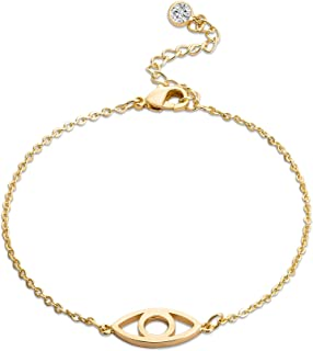 Best bracelets gold plated Reviews
