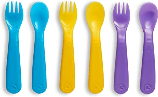 Munchkin ColorReveal Color Changing Toddler Forks & Spoons, 6 Pack