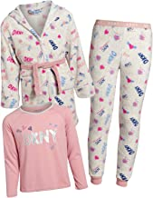 dkny fleece pyjama set