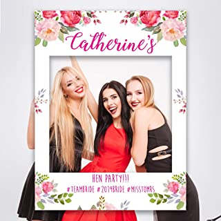 Paper Themes Personalised Hen Do Selfie Frame Party Photo