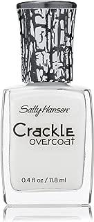 Sally Hansen Crackle Overcoat Nail Polish, Snow Blast, 0.4 Fluid Ounce