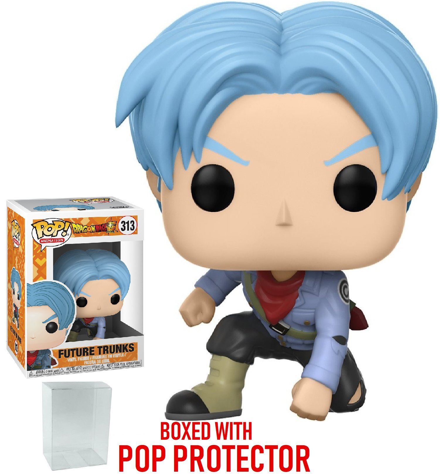 2 Piece BUNDLE Goku Black and Future Trunks Toy Action Figures Funko POP Animation Dragon Ball Super