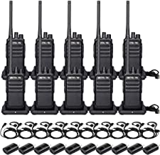 Retevis RT17 Two Way Radios Long Range Rechargeable,Walkie Talkie for Adults,2 Way Radio with Earpiece G Shape,Durable USB...