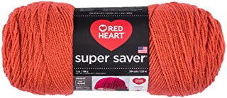 Red Heart Super Saver Yarn - Coral (Pack of 3)