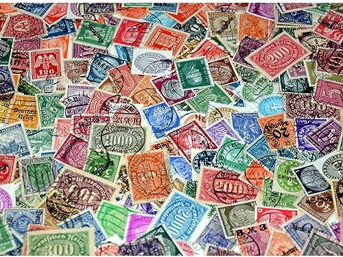 Goldhahn Deutsches Reich mit Gebieten dabei Nr. 634-642 gestempelt Briefmarken für Sammler