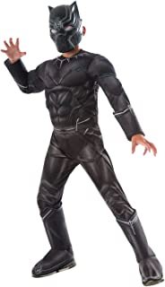Rubie's Costume Captain America: Civil War Deluxe Black Panther Costume, Child Large