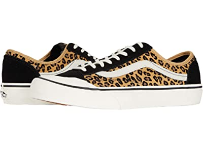 Vans Style 36 Decon SF ((Mini Leopard) Suede/Marshmallow/Marshmallow) Men