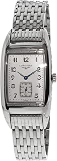 Longines Men's Bellearti L26944736 Silver Stainless-Steel Swiss Quartz Dress Watch