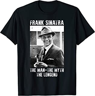 The Man The Myth The Legends Love Frank shirt Sin-atra Gifts T-Shirt