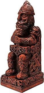 Dryad Design Norse God Thor Statue Wood Finish