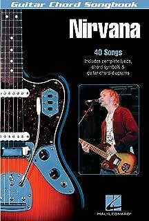 Nirvana - guitar chord songbook - 40 titres