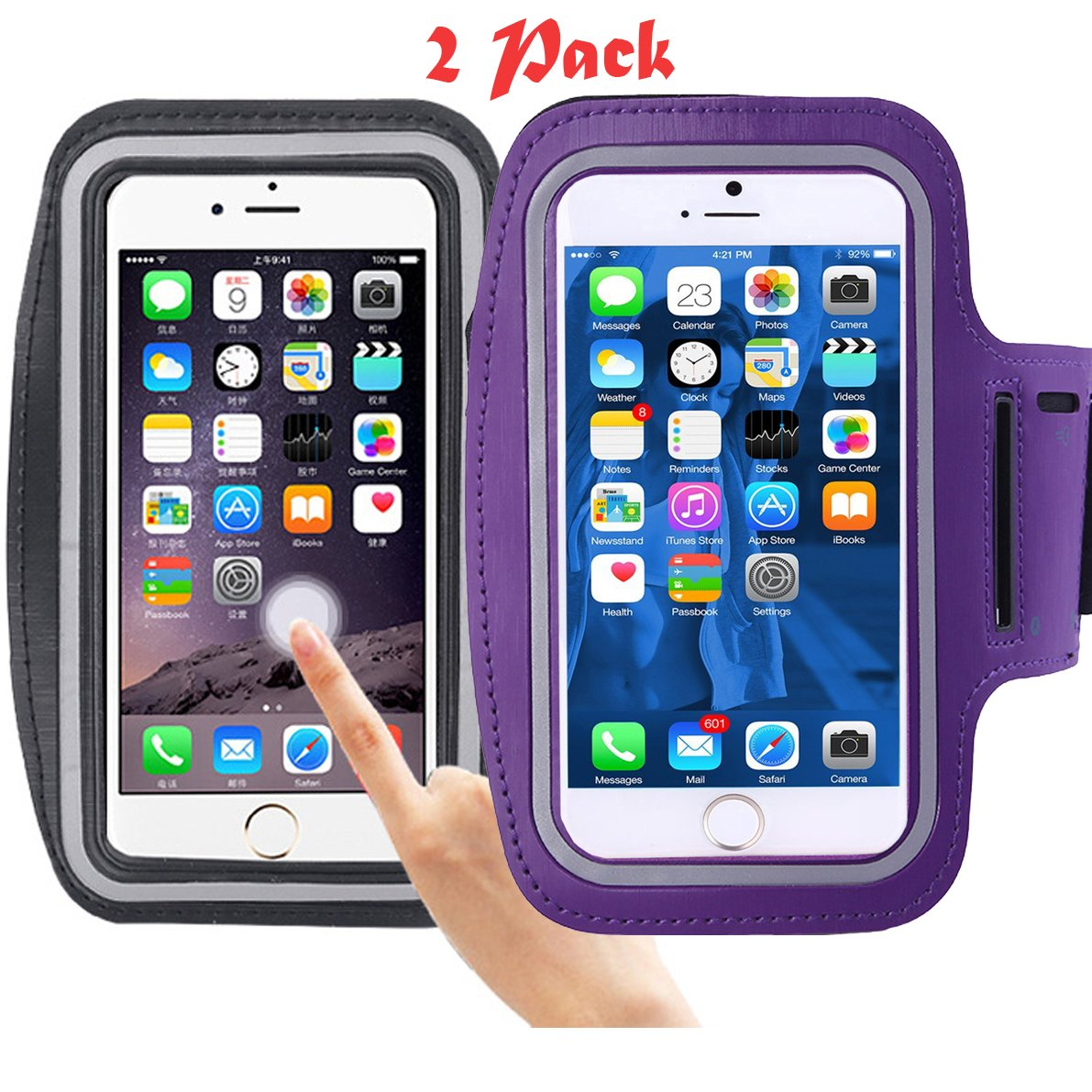cell-phone-armband, ibarbe hasta 5,5 inch-case para iphone-7 – 6 ...