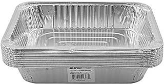 Jetfoil Aluminum Foil Steam Table Pans, Half Size Deep, 9x13 Pans (10 Pack)
