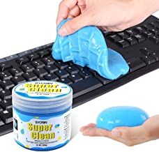 SYOSIN Dust Cleaning Mud,Keyboard Cleaner Universal Sticky Slime for Cleaning Goop Magic Dust Cleaner Gel for Laptops,Car Vents,Printers Calculators 160G