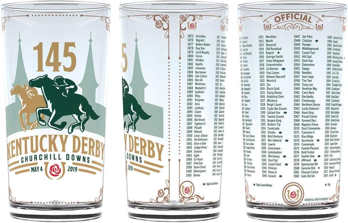 Kentucky Derby Glass LOOKS NEW!