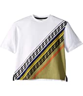 Fendi Kids - Logo Tee (Toddler/Little Kids/Big Kids)