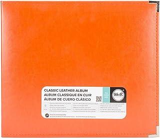 Nous R Memory Keepers American Crafts 660907Classique Anneau en D Album Scrapbooking, 30,5x 30,5cm, Orange, Soda