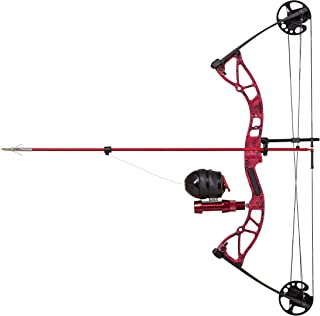 Cajun Bowfishing Shore Runner Kit Compound Bowfishing Bow Ready to Fish Kit with Arrow Rest, Bowfishing Reel, Reel Seat, B...