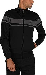 Sergio Tacchini Men's Damarindo Track Jacket, Black