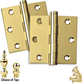Best decorative brass hinges Reviews
