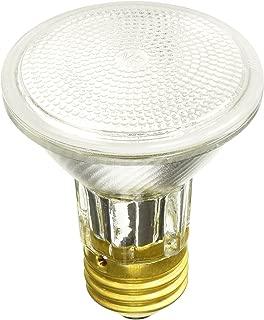 Sylvania 15908 50 Watt PAR20 Narrow Flood Light Bulb 30 Degree Beam Spread 120 Volt Dimmable 2850 Warm White - 2 Pack