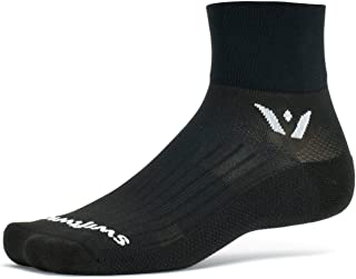Swiftwick- ASPIRE TWO Running & Cycling Socks | Lightweight, Breathable, Mens and Womens