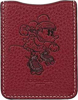 Minnie Mouse Rollerskate Phone Pocket Sticker ©Disney x COACH
