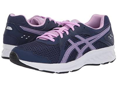 ASICS Kids Jolt 2 GS (Big Kid) (Indigo Blue/Astral) Girls Shoes