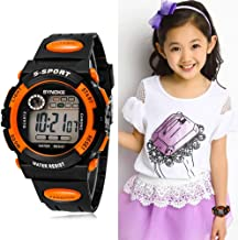 Multifunction Waterproof Child Boy Girl Sports Electronic Wrist Watch