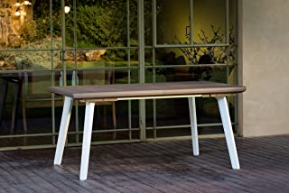 Amazon.fr : Table De Jardin Extensible - Blanc