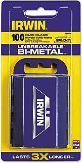 Irwin 2084400 100 Count Bi-Metal Blue Blades