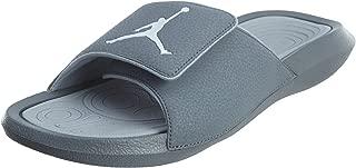 Jordan Hydro 6 Black/White/Wolf Grey Men's Sandals Size 9