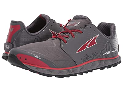 Altra Footwear Superior 4 (Gray/Red) Men