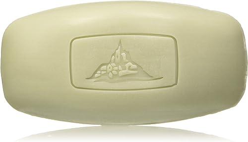 Mont St Michel - Parfumeur depuis 1920 - Savon Cologne Solide - Parfum Fraîcheur Aromatique - Le savon de 125 g