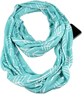travel scarf with pockets