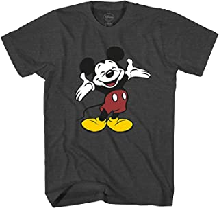 Men's Vintage Mickey Mouse Smile Graphic T-Shirt