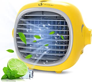 Portable Air Conditioner,Portable Cooler,Suitable for Bedside, Office and Study Room.Three Wind Level Adjust Small Desktop...