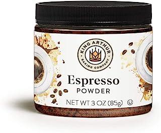 King Arthur, Espresso Powder, Certified Kosher, Reusable Plastic Jar, 3 Ounces (Packaging May Vary)