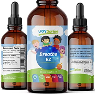 Breathe EZ - Best Allergy Relief for Kids - Liquid Childrens Allergy Medicine - Kids Allergy Medicine Drops - Family Sniff...