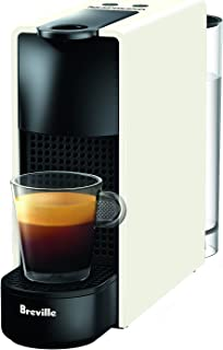 Breville-Nespresso USA BEC220WHT1AUC1 Essenza Mini Espresso Machine, 12.9 x 3.3 x 8 inches, Pure White