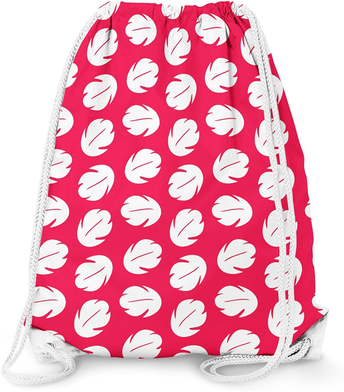 Lilo Hawaiian Dress Disney Inspired Drawstring Bag - Large (13.3 x 17.3)