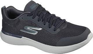 Skechers mens Gorun 400 V2 Omega - Performance and Walking Running Shoe, Charcoal, 10.5 US