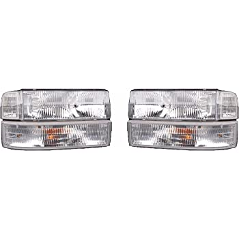National RV Dolphin 2002 RV Motorhome Pair Left /& Right Replacement Front Corner Lamps Side Park Lights