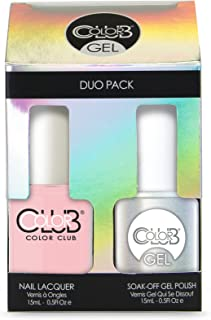 Color Club Gel Duo Pack Gel + Nail Lacquer FULL COLLECTION (pick your color) (Femme a la Mode #GEL935)