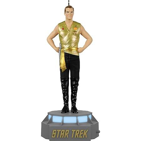 Kirk Christmas Ornament NOS chair Keep 1995 Hallmark Star Trek Captain James T